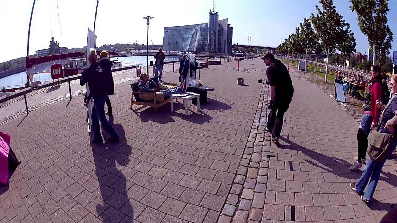 Making of KielNET Werbespot